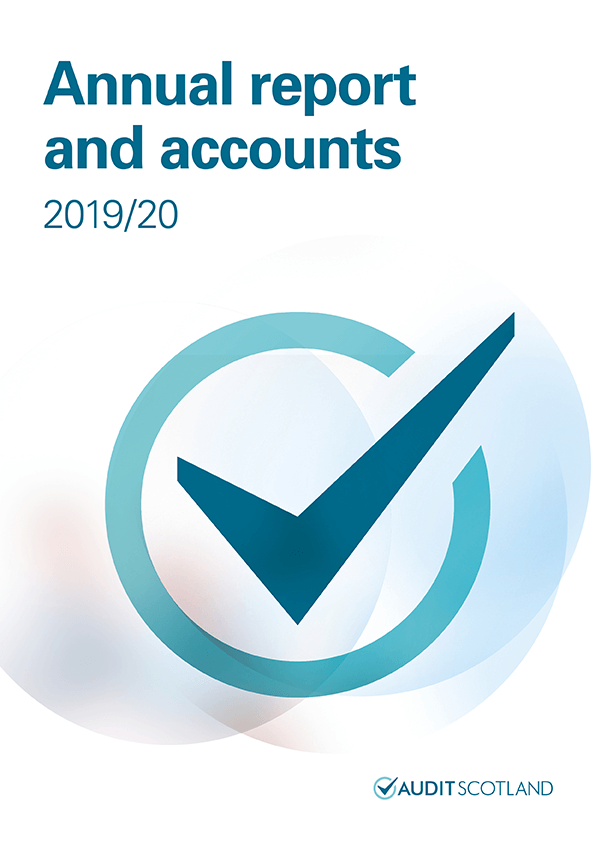 Report cover: Annual report and accounts 2019/20