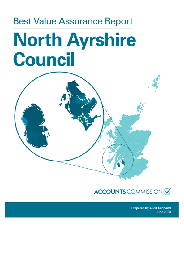 Report cover: Best Value Assurance Report: North Ayrshire Council
