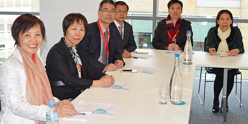 Visit by Guangzhou Audit Bureau