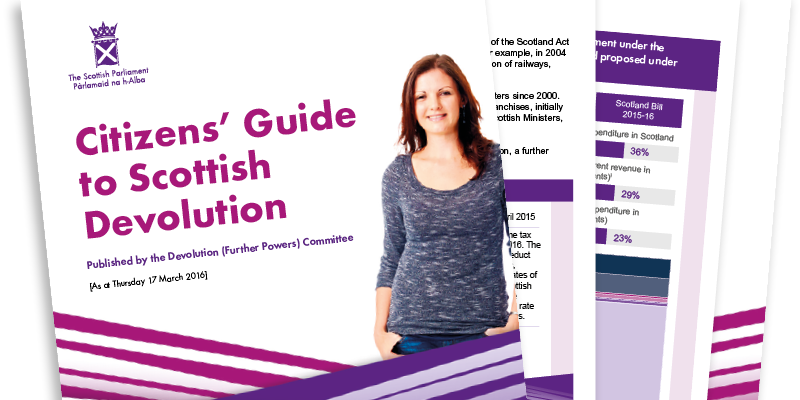 Citizen's Guide to Scottish Devolution