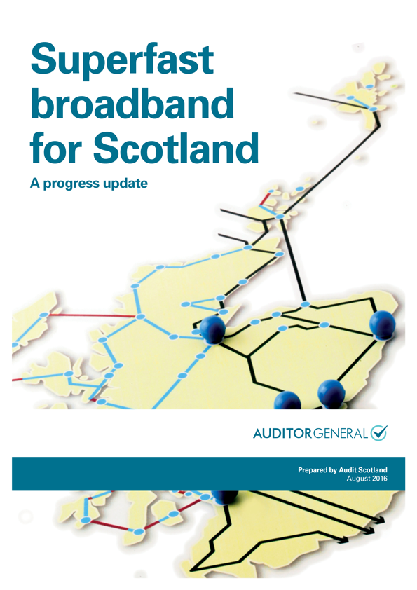 Superfast broadband for Scotland: progress update