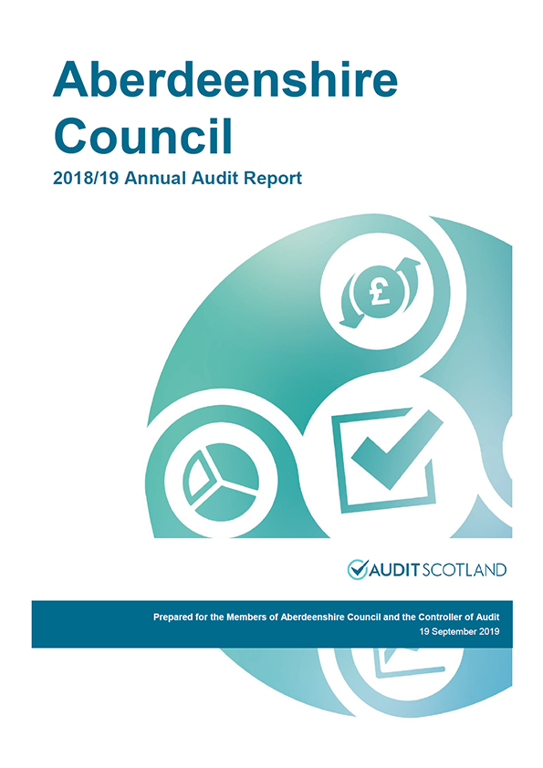 Aberdeenshire Council Annual Audit Report 2018 19 Audit Scotland