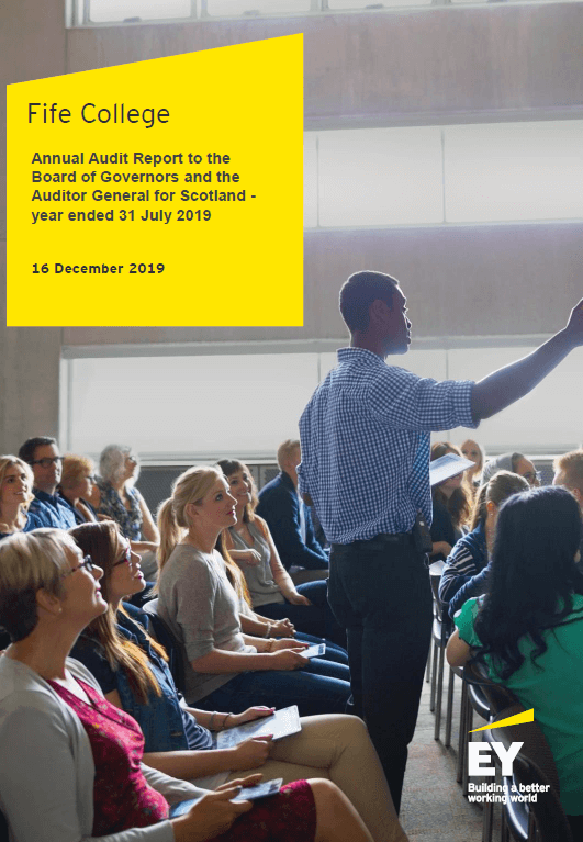 Fife College Annual Audit 2018 19 Audit Scotland