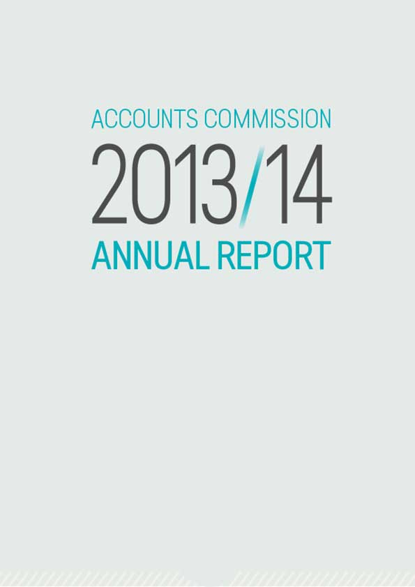 Report cover: Accounts Commission annual report 2013/14