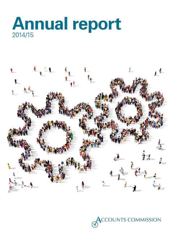 Report cover: Accounts Commission annual report 2014/15