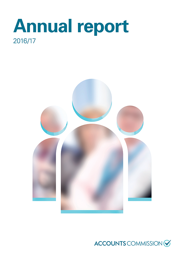 Report cover: Accounts Commission annual report 2016/17