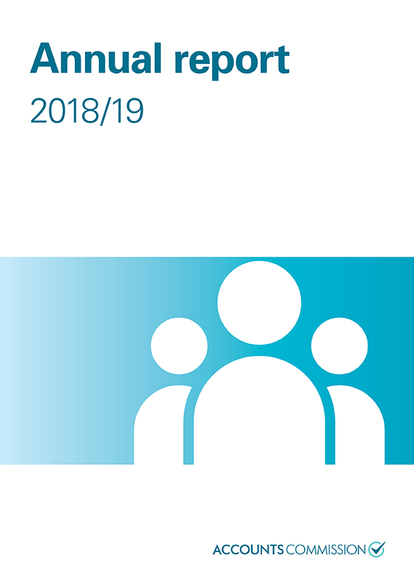 Report cover: Accounts Commission annual report 2018/19