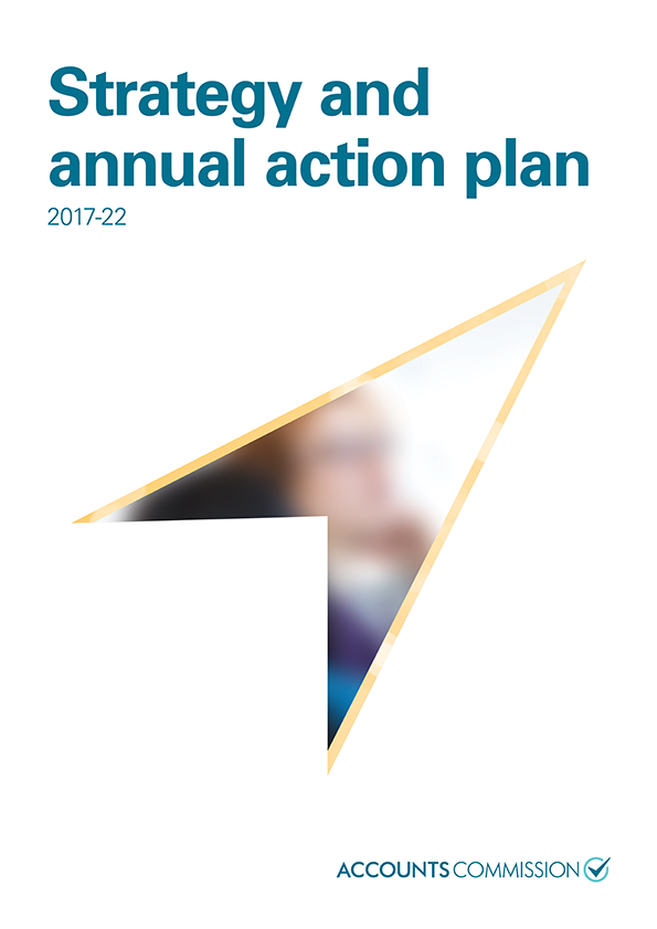 Report cover: Accounts Commission Strategy and annual action plan 2017-22