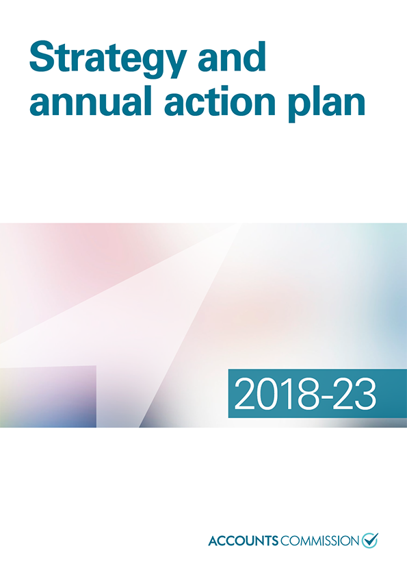 Report cover: Accounts Commission Strategy and annual action plan 2018-23
