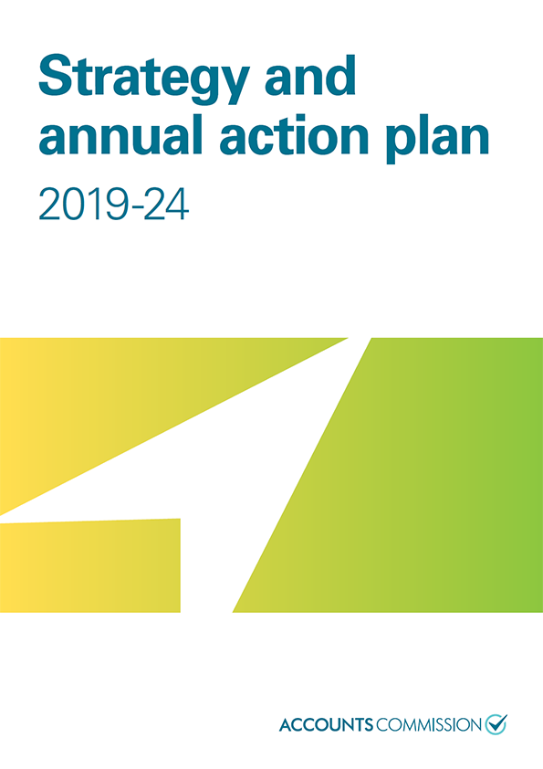 Report cover: Accounts Commission Strategy and annual action plan 2019-24