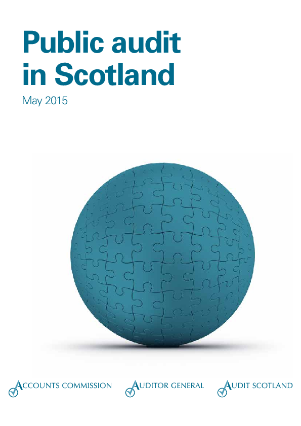 Report cover: Public audit in Scotland