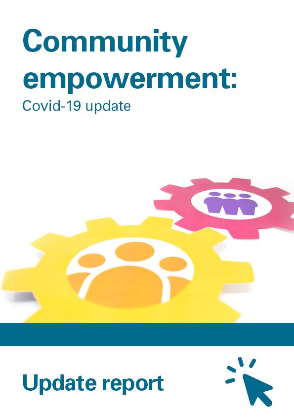 View Community empowerment: Covid-19 update