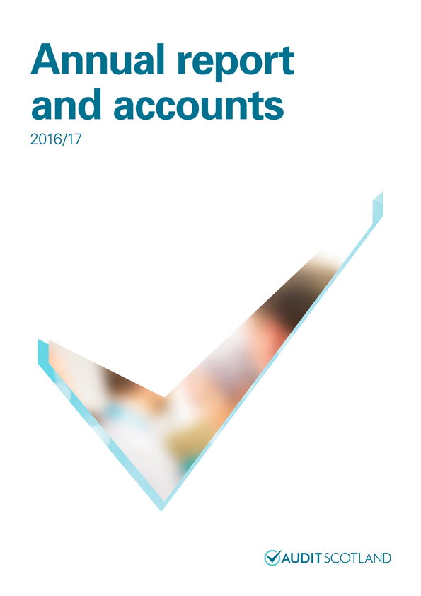 Report cover: Annual report and accounts 2016/17