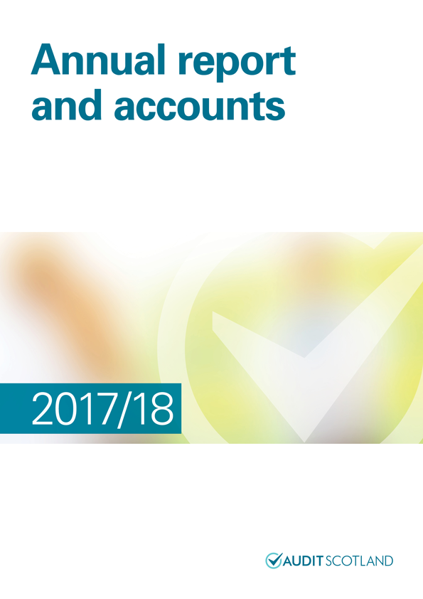 Report cover: Annual report and accounts 2017/18