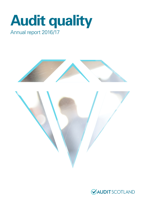 Report cover: Audit quality annual report 2016/17