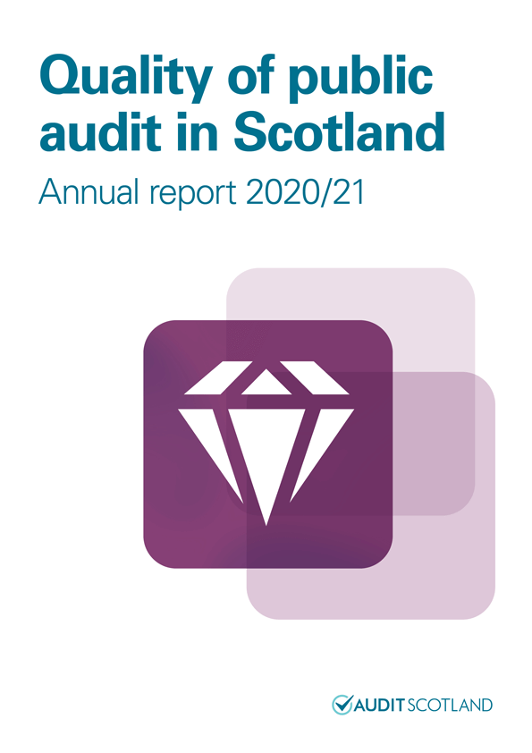 View Quality of public audit in Scotland annual report 2020/21