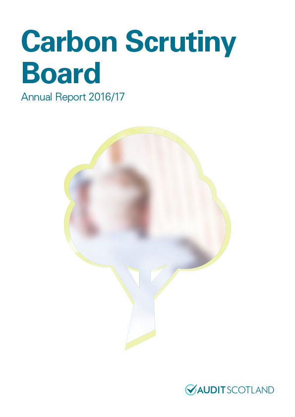View Carbon Scrutiny Board annual report 2016/17