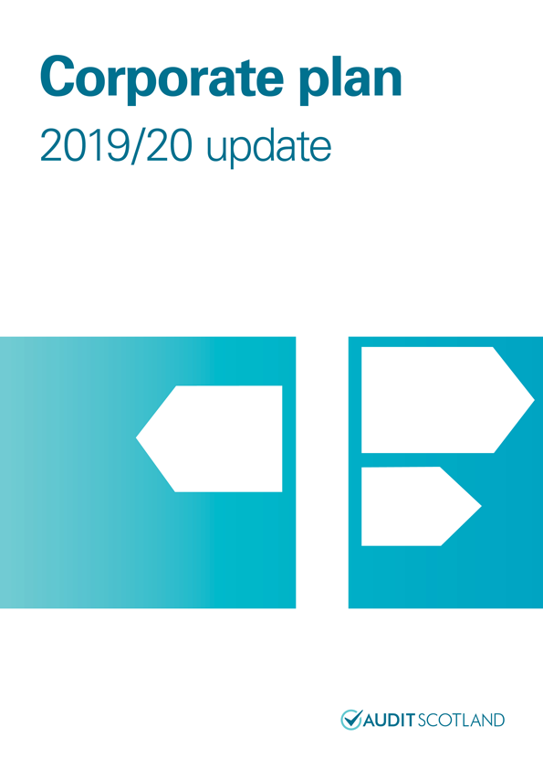 Report cover: Corporate Plan 2019/20 update