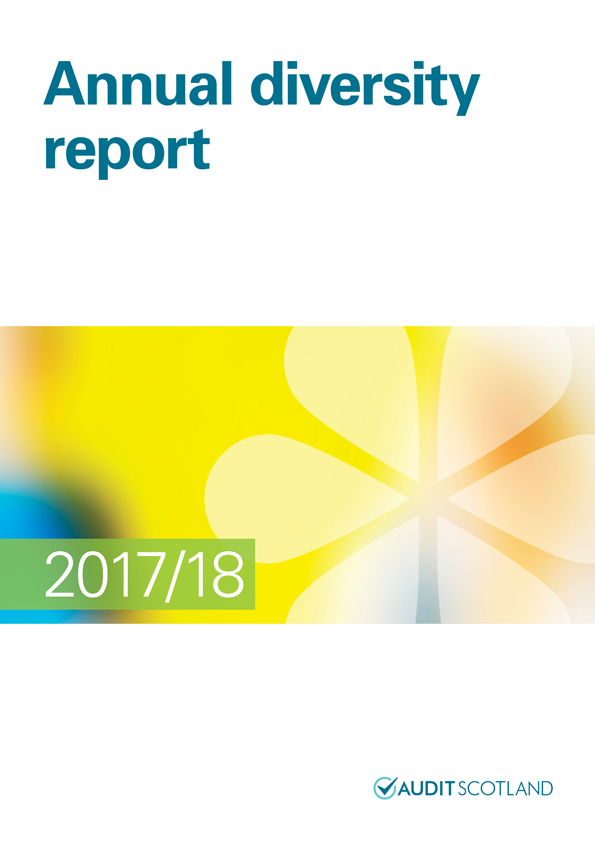 Report cover: Annual diversity report 2017/18