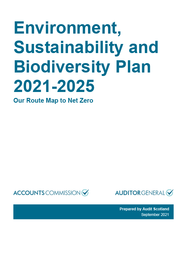 View Environment, Sustainability and Biodiversity plan 2021-2025
