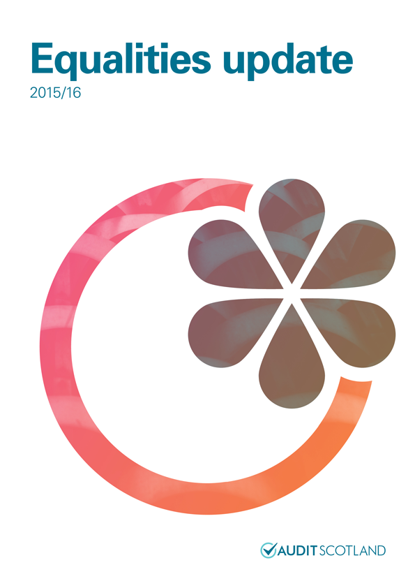 Report cover: Equalities update 2015/16