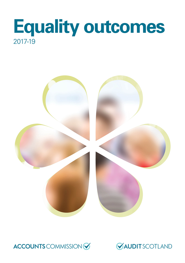 Report cover: Equality outcomes 2017-19