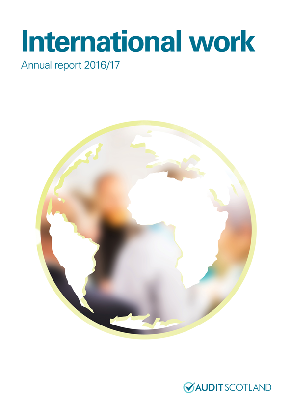 Report cover: International work annual report 2016/17