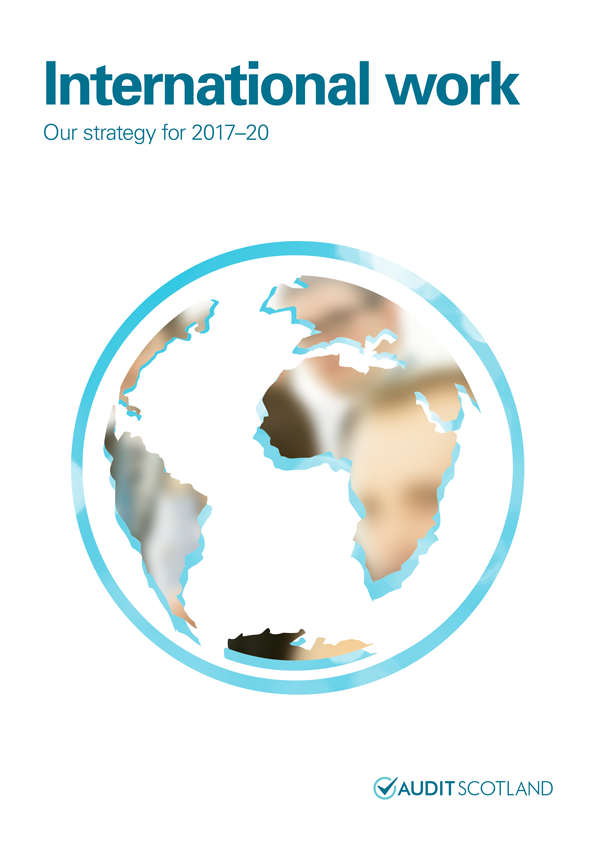 Report cover: International work: Our strategy for 2017-20