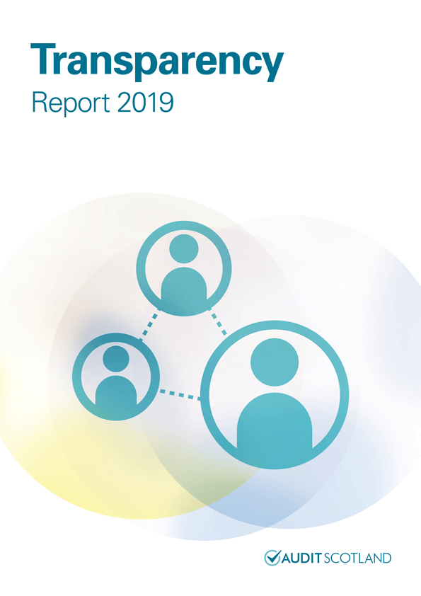 Report cover: Transparency report 2019