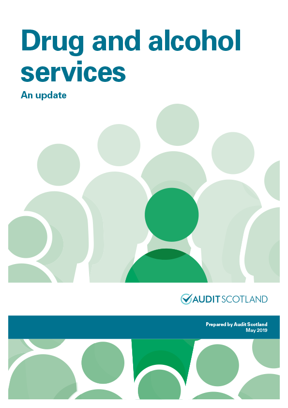 Report cover: Drug and alcohol services: an update