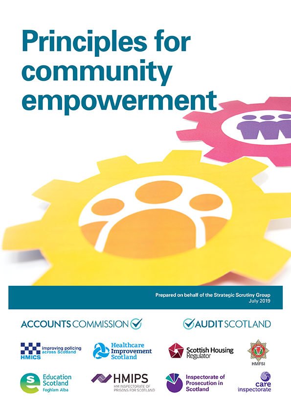Report cover: Principles for community empowerment