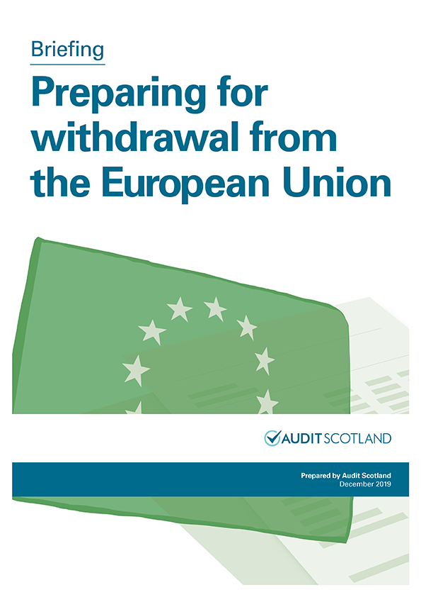 Preparing for withdrawal from the European Union