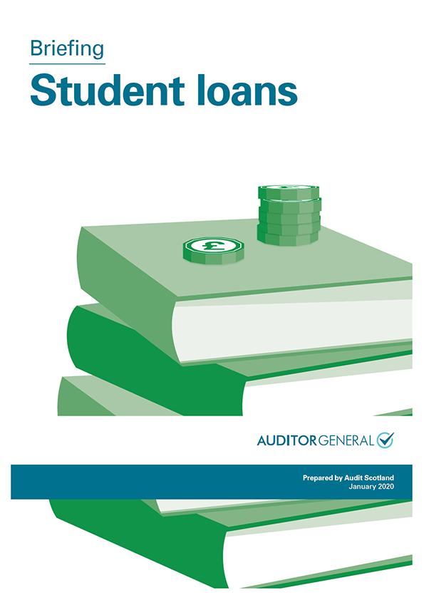 Report cover: Student loans