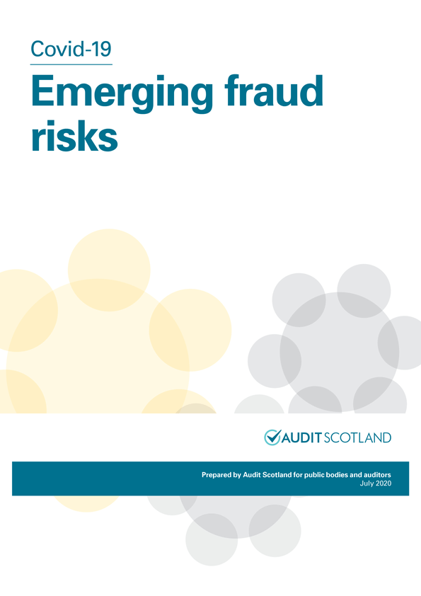 Report cover: Covid-19: Emerging fraud risks