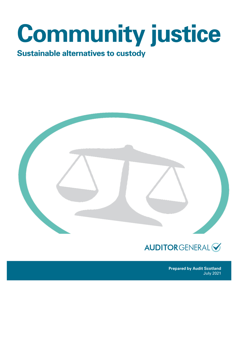 View Community justice: Sustainable alternatives to custody