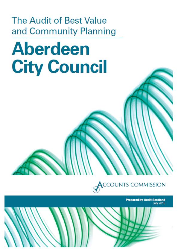 View Aberdeen City Council Best Value audit