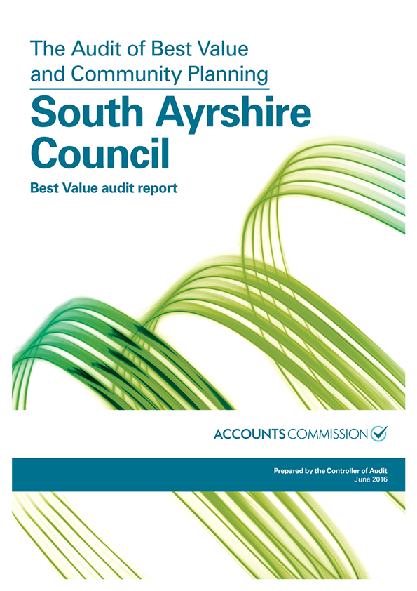 View South Ayrshire Council: Best Value audit report