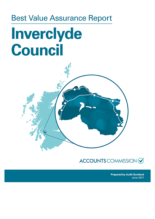 Report cover: Best Value Assurance Report: Inverclyde Council
