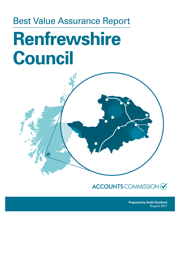 Report cover: Best Value Assurance Report: Renfrewshire Council