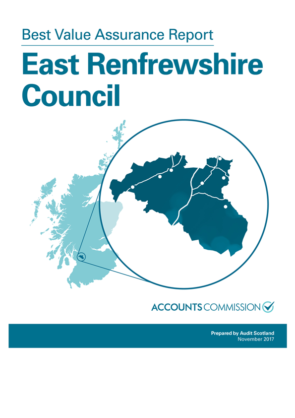 Report cover: Best Value Assurance Report: East Renfrewshire Council