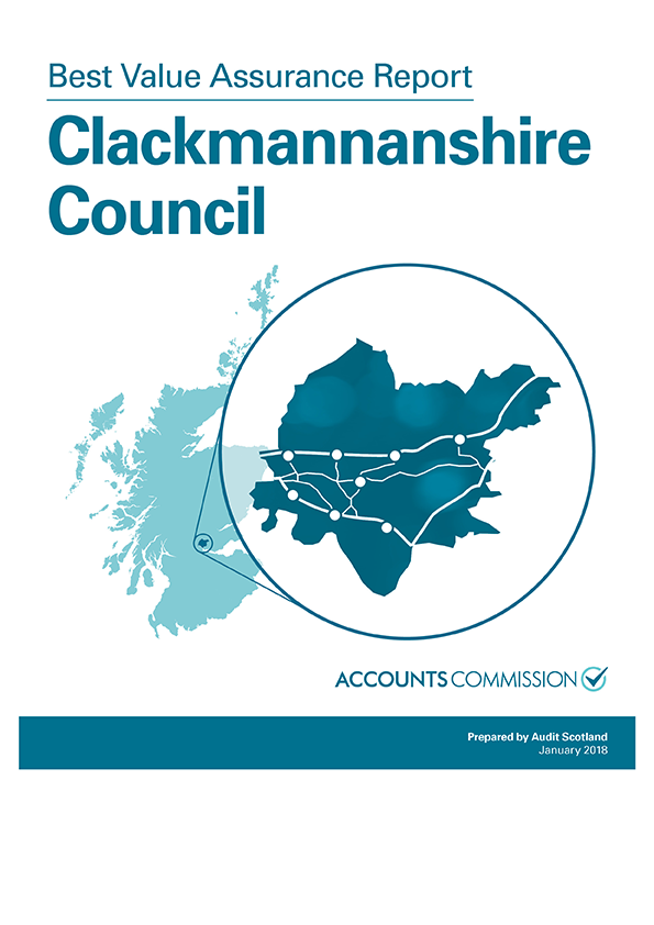 Report cover: Best Value Assurance Report: Clackmannanshire Council
