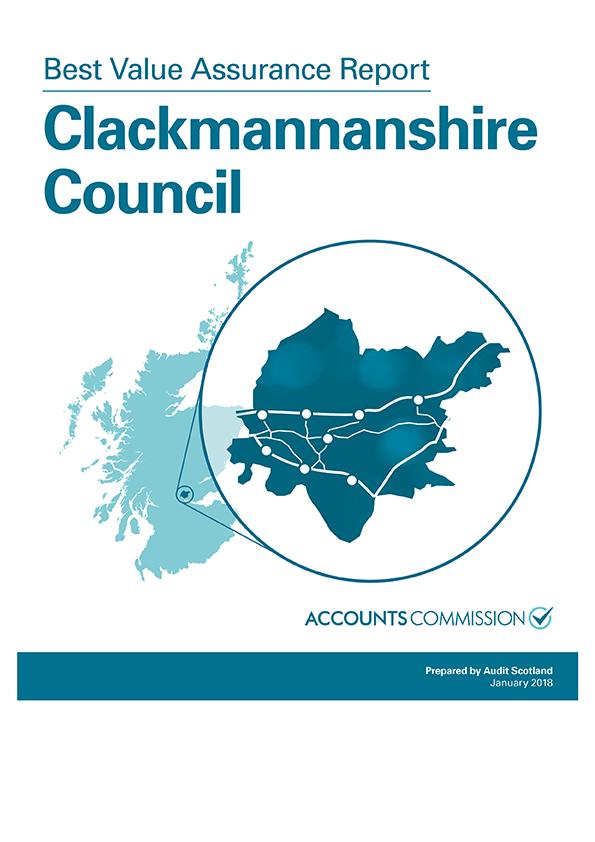 Report cover: Best Value Assurance Report: Clackmannanshire Council