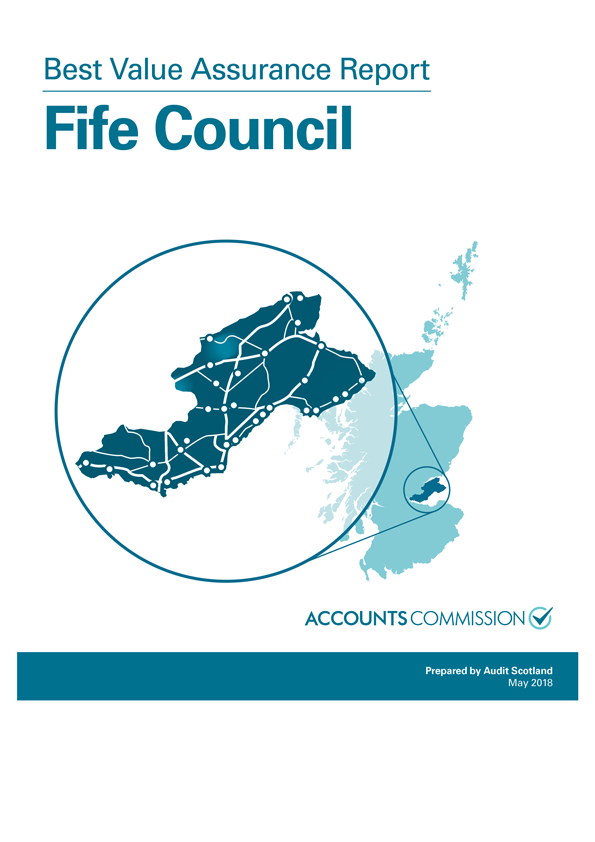 Report cover: Best Value Assurance Report: Fife Council