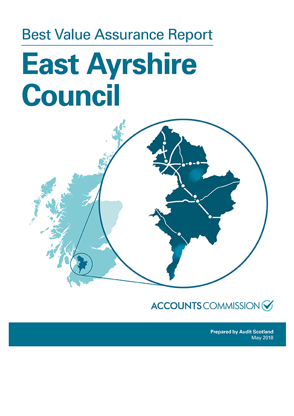 Report cover: Best Value Assurance Report: East Ayrshire Council