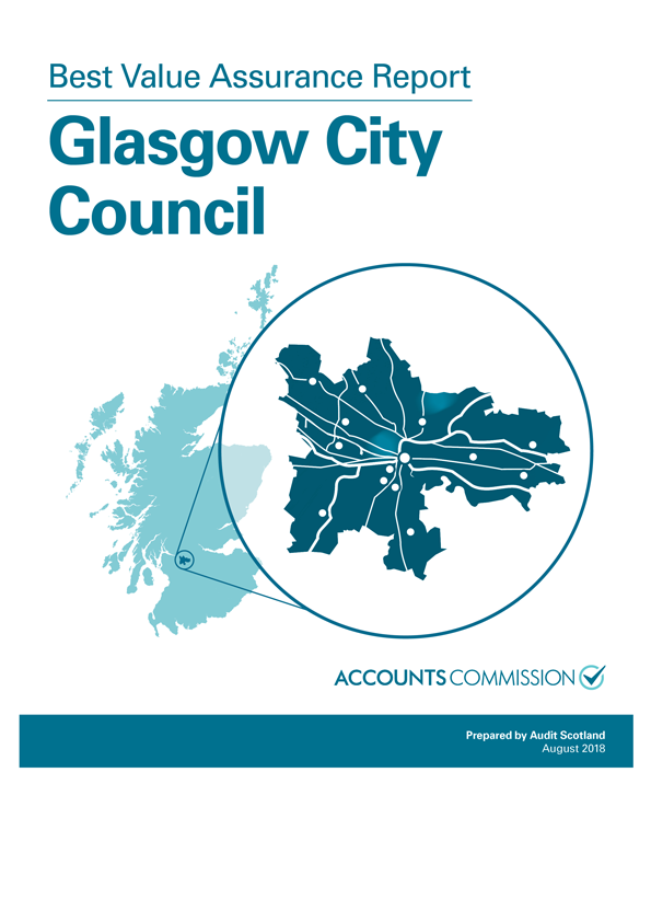 Report cover: Best Value Assurance Report: Glasgow City Council