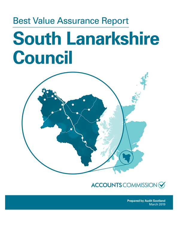 Report cover: Best Value Assurance Report: South Lanarkshire Council