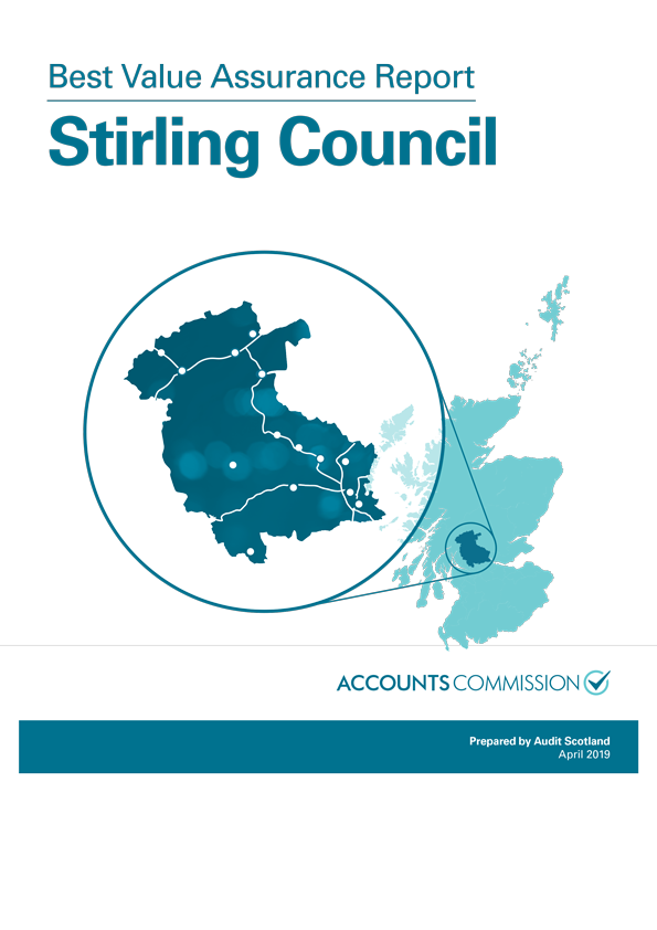 Report cover: Best Value Assurance Report: Stirling Council