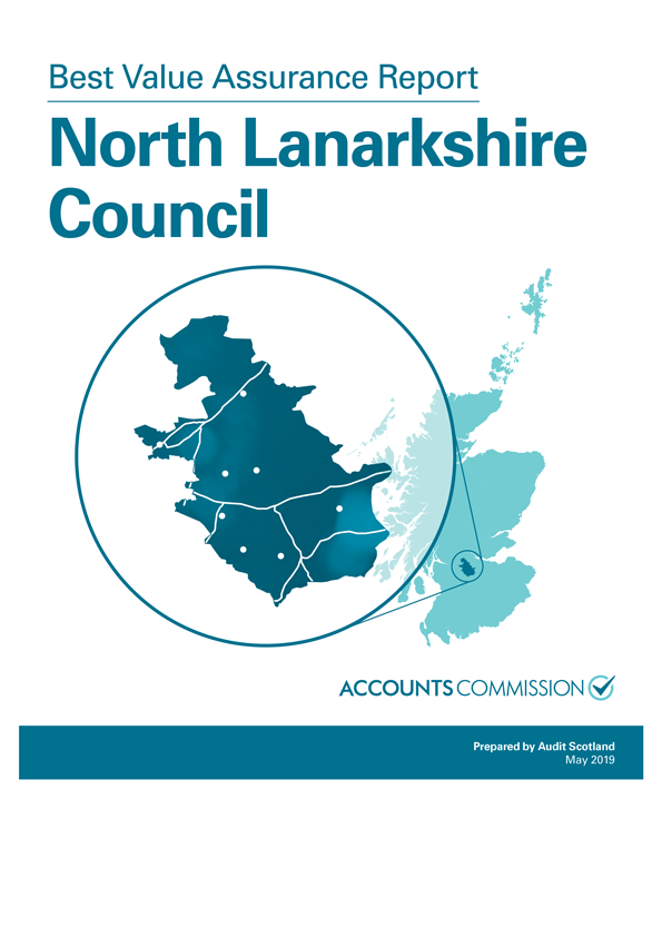 Report cover: Best Value Assurance Report: North Lanarkshire Council