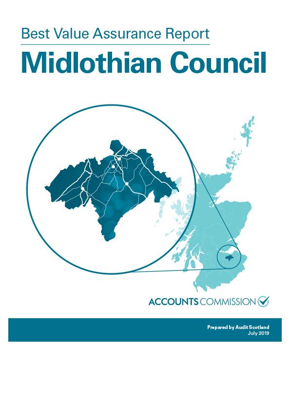 Report cover: Best Value Assurance Report: Midlothian Council