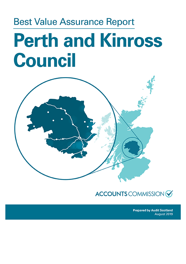 Report cover: Best Value Assurance Report: Perth and Kinross Council